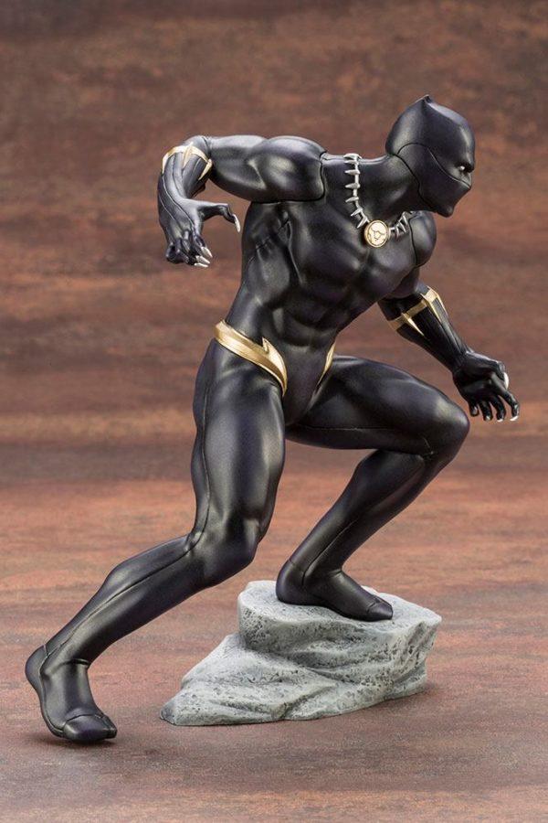BLACK PANTHER STATUE PVC - ARTFX+ - 1-10 - MARVEL COMICS - KOTOBUKIYA - 17 CM – (9) - 190526011823 – kingdom-figurine.fr