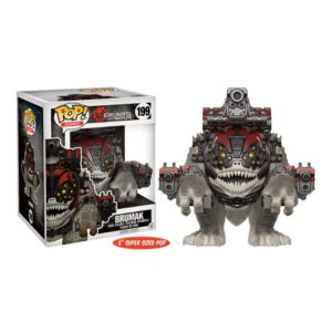 BRUMAK FIGURINE - GEARS OF WAR - FUNKO - SUPER SIZED - POP GAMES 199 – 889698121927 – kingdom-figurine.fr