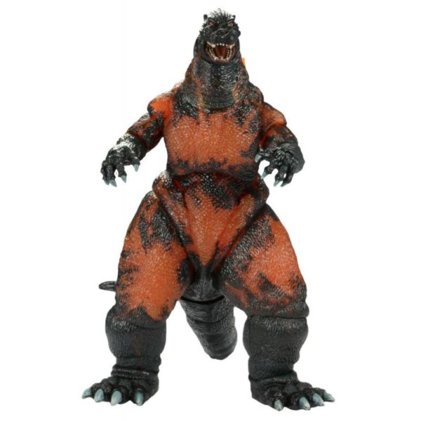 BURNING GODZILLA FIGURINE - GODZILLA 1995 - HEAD TO TAIL - NECA - 30 CM – (1) - 634482428115 – kingdom-figurine.fr
