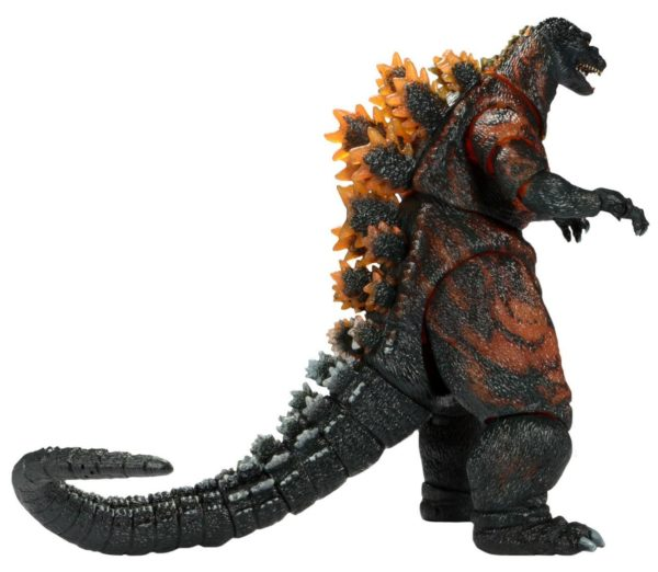 BURNING GODZILLA HEAD TO TAIL FIGURINE ARTICULÉE - GODZILLA 1995 - NECA - 30 CM – (3) - 634482428115 – kingdom-figurine.fr