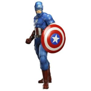 CAPTAIN AMERICA STATUE - ARTFX+ 1-10 - AVENGERS NOW - MARVEL COMICS - KOTOBUKIYA - 19 CM – (1) - 4934054092451 – kingdom-figurine.fr