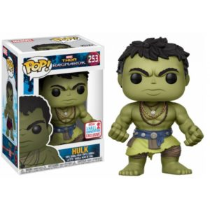 CASUAL HULK FIGURINE - MARVEL THOR RAGNAROK - EXCLUSIVE NYCC 2017 - FUNKO - POP 253 – 889698208154 – kingdom-figurine.fr