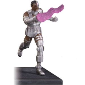 CYBORG STATUETTE RÉSINE - TEEN TITANS - DC COMICS - DC COLLECTIBLES - 19 CM – 761941354293 – (1) - kingdom-figurine.fr