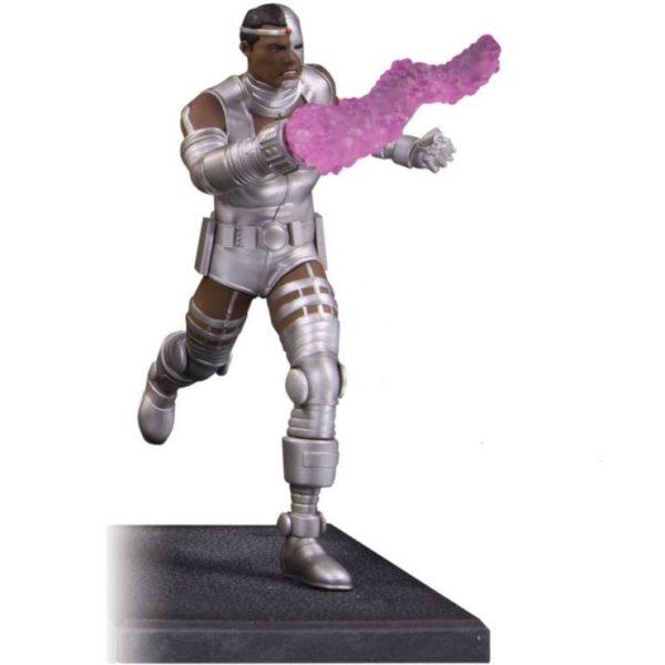 CYBORG STATUETTE RÉSINE - TEEN TITANS - DC COMICS - DC COLLECTIBLES - 19 CM – 761941354293 – (1) - kingdom-figurine.fr