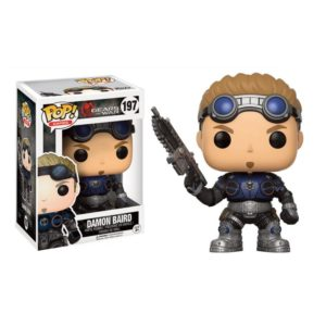 DAMON BAIRD FIGURINE - GEARS OF WAR - FUNKO - POP GAMES 197 – 889698121903 – kingdom-figurine.fr
