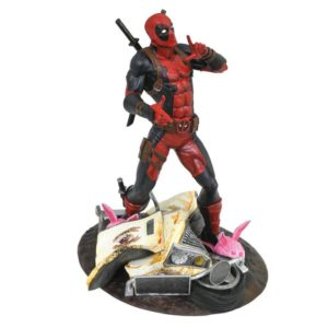 DEADPOOL TACO TRUCK STATUE PVC - MARVEL GALLERY - MARVEL DIAMOND SELECT TOYS - 25 CM – (1) - 699788831472 – kingdom-figurine.fr