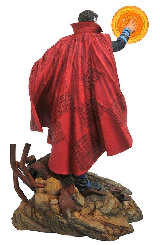 DOCTOR STRANGE STATUE - AVENGERS INFINITY WAR - MARVEL GALLERY - DIAMOND SELECT TOYS - 23 CM – (4) - 699788828625 – kingdom-figurine.fr