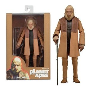 DR. ZAÏUS FIGURINE ARTICULÉE - PLANET OF THE APES (1968) - SERIE 2 - NECA - 17 CM – 634482299999 – kingdom-figurine.fr