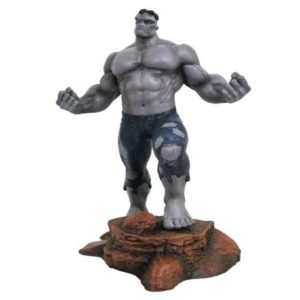 GREY HULK STATUETTE - MARVEL GALLERY - SDCC 2018 - DIAMOND SELECT TOYS - 28 CM – (1) - 699788825310 – kingdom-figurine.fr