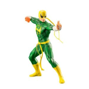 IRON FIST STATUETTE PVC - ARTFX+ - ÉCHELLE 1-10 - MARVEL'S THE DEFENDERS - KOTOBUKIYA - 19 CM – (1) - 4934054093472 – kingdom-figurine.fr