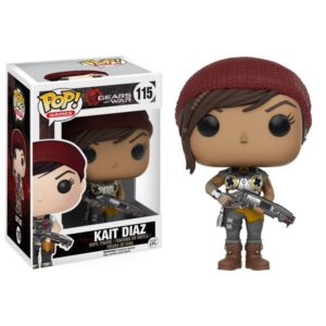 KAIT DIAZ FIGURINE - GEARS OF WAR - FUNKO - POP GAMES 115 – 889698106351 – kingdom-figurine.fr