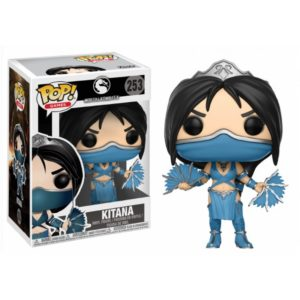 KITANA FIGURINE - MORTAL KOMBAT X - FUNKO - POP GAMES 253 – 889698216890 – kingdom-figurine.fr
