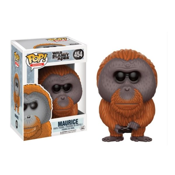 MAURICE FIGURINE - WAR FOR THE PLANET OF THE APES - FUNKO - POP MOVIES 454 – 889698142830 – kingdom-figurine.fr