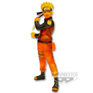 NARUTO UZUMAKI FIGURINE - SPECIAL COLOR VERSION - NARUTO SHIPPUDEN - SHINOBI RELATIONS - BANPRESTO - 15 CM – (1) - 3296580337118 – kingdom-figurine.fr