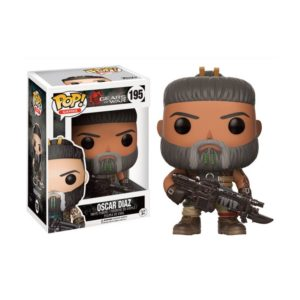 OSCAR DIAZ FIGURINE - GEARS OF WAR - FUNKO POP - GAMES 195 – 889698121873 – kingdom-figurine.fr