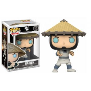 RAIDEN FIGURINE - MORTAL KOMBAT X - FUNKO - POP GAMES 254 – 889698217118 – kingdom-figurine.fr