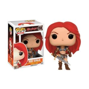 RED SONJA FIGURINE - FUNKO - POP SUPERHEROES 158 – 889698117517 – kingdom-figurine.fr