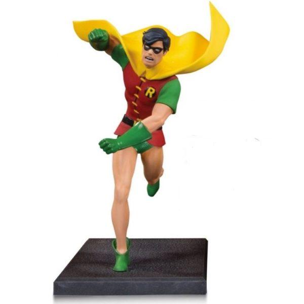 ROBIN STATUETTE RÉSINE - TEEN TITANS - DC COMICS - DC COLLECTIBLES - 19 CM – (3) - 761941354262 – kingdom-figurine.fr