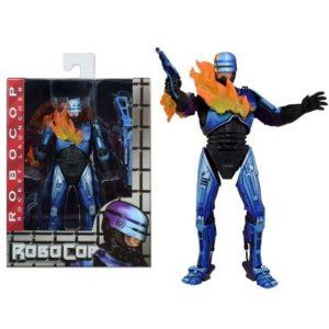 ROBOCOP ROCKET LAUNCHER FIGURINE ARTICULÉE - ROBOCOP VS TERMINATOR - NECA - 17 CM – (1) - 634482519059 – kingdom-figurine.fr