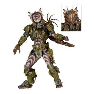 SPIKED TAIL PREDATOR FIGURINE ARTICULÉE - PREDATORS SERIE 16 - NECA - 18 CM – (1) - 634482515334 – kingdom-figurine.fr