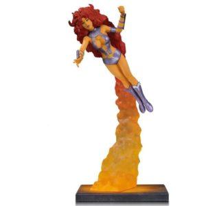 STARFIRE STATUETTE RÉSINE - TEEN TITANS - DC COMICS - DC COLLECTIBLES - 26 CM – (2) - 761941354279 – kingdom-figurine.fr