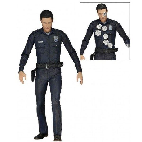 T-1000 FIGURINE ARTICULÉE - TERMINATOR GENISYS - SERIE 1 - NECA - 17 CM – (1) - 634482421895 – kingdom-figurine.fr
