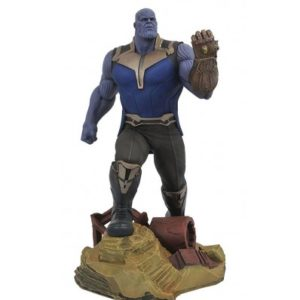THANOS STATUE - AVENGERS INFINITY WAR - MARVEL GALLERY - DIAMOND SELECT TOYS - 23 CM – (1) - 699788828892 – kingdom-figurine.fr