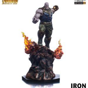 THANOS STATUE RÉSINE - AVENGERS INFINITY WAR - BDS ART SCALE - IRON STUDIOS - 35 CM – (1) - 751320773265 – kingdom-figurine.fr