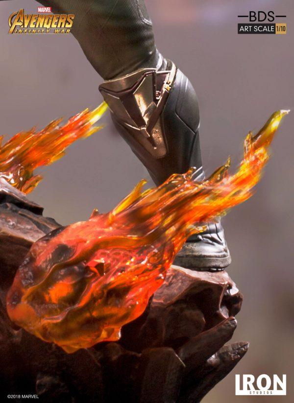 THANOS STATUE RÉSINE - AVENGERS INFINITY WAR - BDS ART SCALE - IRON STUDIOS - 35 CM – (7) - 751320773265 – kingdom-figurine.fr
