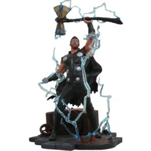 THOR STATUE - AVENGERS INFINITY WAR - MARVEL GALLERY - DIAMOND SELECT TOYS - 23 CM – (1) - 699788828649 – kingdom-figurine.fr