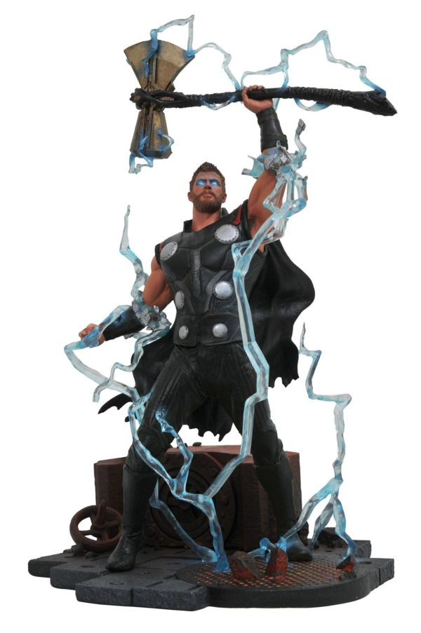 THOR STATUE - AVENGERS INFINITY WAR - MARVEL GALLERY - DIAMOND SELECT TOYS - 23 CM – (1Bis) - 699788828649 – kingdom-figurine.fr