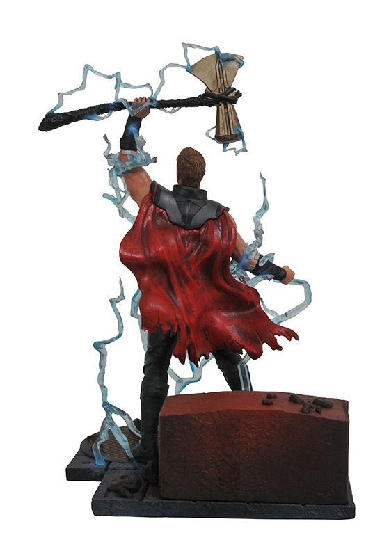THOR STATUE - AVENGERS INFINITY WAR - MARVEL GALLERY - DIAMOND SELECT TOYS - 23 CM – (3) - 699788828649 – kingdom-figurine.fr