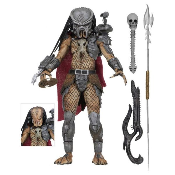 ULTIMATE AHAB PREDATOR FIGURINE ARTICULÉE- ULTIMATE VERSION SDDC 2014 - PREDATOR - NECA - 20 CM – (1) - 634482515693 – kingdom-figurine.fr