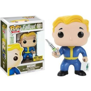 VAULT BOY MEDIC FIGURINE VINYLE - FALLOUT - EXCLUSIVE - FUNKO POP GAMES 101 – (2) - 889698105132 – kingdom-figurine.fr