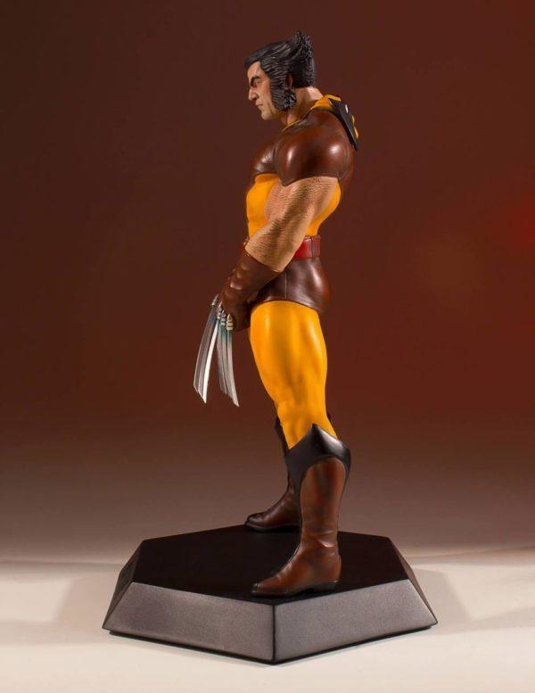 WOLVERINE 80' STATUETTE RÉSINE - ÉCHELLE 1-8 - COLLECTORS GALLERY - GENTLE GIANT - 23 CM – (5) - 814176022700 – kingdom-figurine.fr