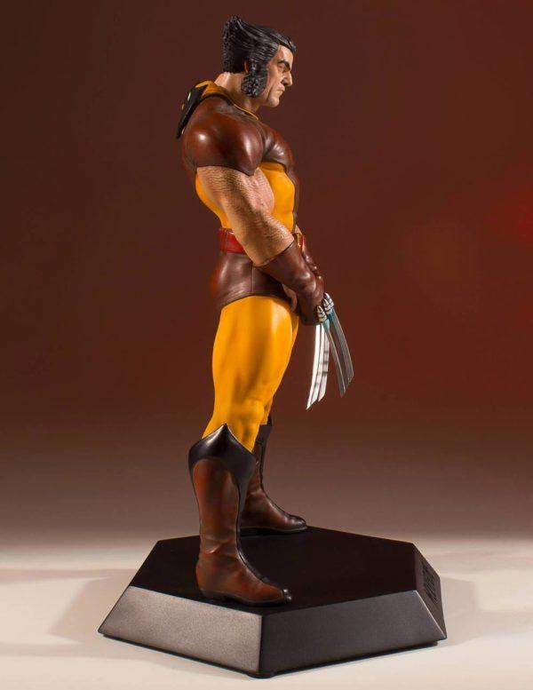 WOLVERINE 80' STATUETTE RÉSINE - ÉCHELLE 1-8 - COLLECTORS GALLERY - GENTLE GIANT - 23 CM – (9) - 814176022700 – kingdom-figurine.fr