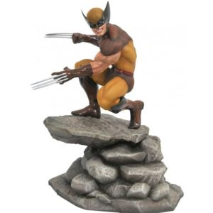 WOLVERINE BROWN SUIT STATUE - MARVEL GALLERY - DIAMOND SELECT TOYS - 23 CM – (1) - 699788828267 – kingdom-figurine.fr