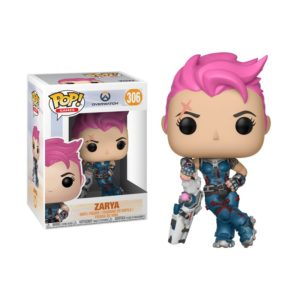 ZARYA FIGURINE - OVERWATCH - FUNKO - POP GAMES 306 – 889698290487 – kingdom-figurine.fr