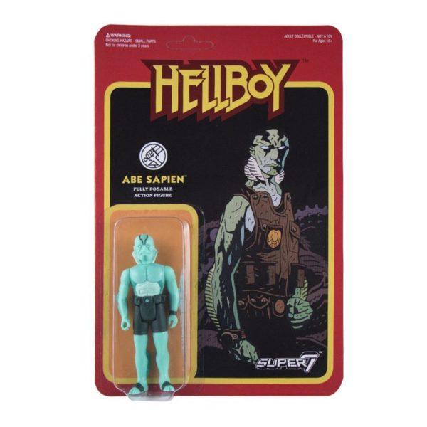 ABE SAPIEN FIGURINE - HELLBOY - WAVE 1 - RE-ACTION - SUPER7 - 10 CM – 605930564686 – kingdom-figurine.fr
