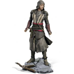 AGUILAR (MICHAEL FASSBENDER) STATUETTE - ASSASSIN'S CREED - UBI-COLLECTIBLES - 24 CM – (1) - 3307215961070 – kingdom-figurine.fr