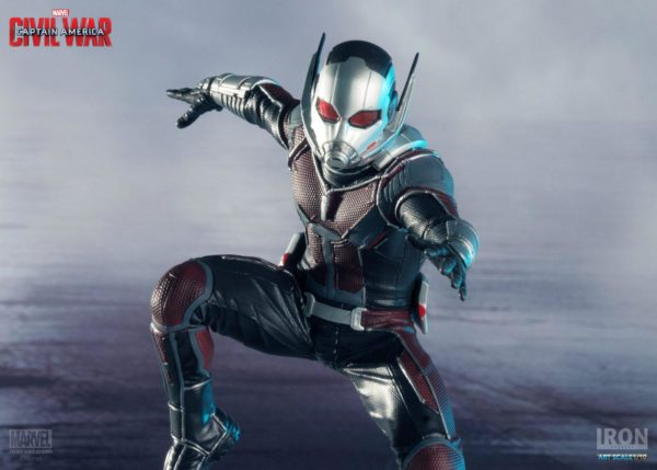 ANT-MAN STATUETTE - CAPTAIN AMERICA CIVIL WAR - IRON STUDIOS - 17 CM – (5) - 0742832353007 – kingdom-figurine.fr