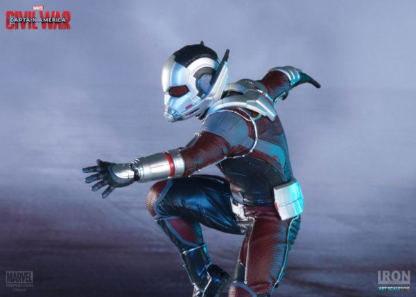 ANT-MAN STATUETTE - CAPTAIN AMERICA CIVIL WAR - IRON STUDIOS - 17 CM – (6) - 0742832353007 – kingdom-figurine.fr