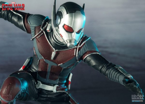 ANT-MAN STATUETTE - CAPTAIN AMERICA CIVIL WAR - IRON STUDIOS - 17 CM – (7) - 0742832353007 – kingdom-figurine.fr