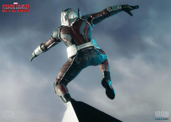 ANT-MAN STATUETTE - CAPTAIN AMERICA CIVIL WAR - IRON STUDIOS - 17 CM – (8) - 0742832353007 – kingdom-figurine.fr