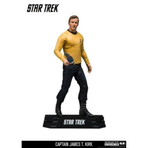 CAPTAIN JAMES T. KIRK FIGURINE - STAR STREK TOS - Mc FARLANE TOYS - 18 CM – 787926130126 – kingdom-figurine.fr – (1) - 787926130126 – kingdom-figurine.fr