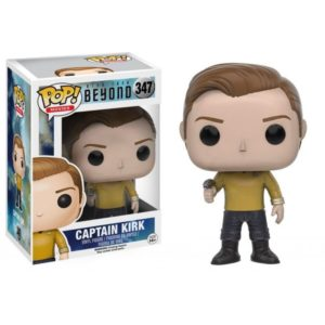 CAPTAIN KIRK FIGURINE - STAR TREK BEYOND - FUNKO - POP MOVIES 347 – (1) - 889698104869 – kingdom-figurine.fr