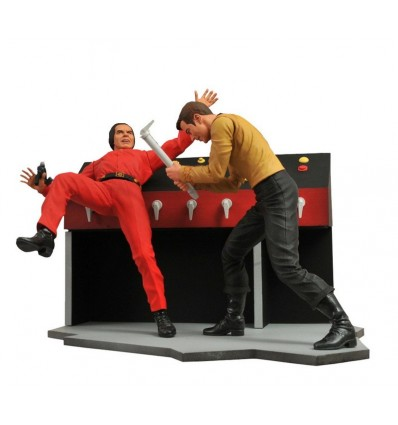 CAPTAIN KIRK FIGURINE - STAR TREK - DIAMOND SELECT TOYS - 18 CM – (1) - 699788178508 – kingdom-figurine.fr