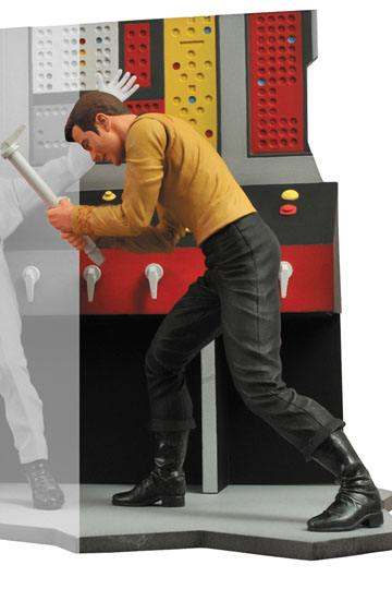 CAPTAIN KIRK FIGURINE - STAR TREK - DIAMOND SELECT TOYS - 18 CM – (1Bis) - 699788178508 – kingdom-figurine.fr