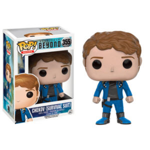 CHEKOV (SURVIVAL SUIT) FIGURINE - STAR TREK BEYOND – EXCLU - FUNKO - POP MOVIES 355 – 889698104944 – kingdom-figurine.fr