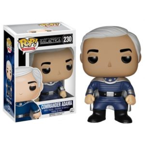 COMMANDER ADAMA FIGURINE - BATTLESTAR GALACTICA - FUNKO - POP TV 230 – 849803051259 – kingdom-figurine.fr